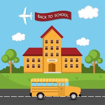 Bus zurück zur schule
