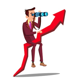 Business analyst, geschäftsmann, vermarkter