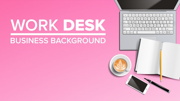 Business arbeitsplatz desktop-hintergrund
