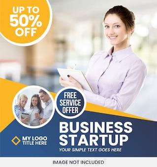 Business banner anzeigenvorlage