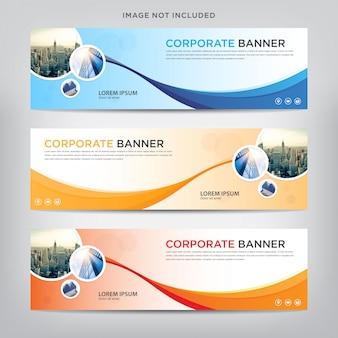 Business banner vorlage