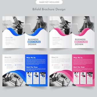 Business-bifold-broschüre