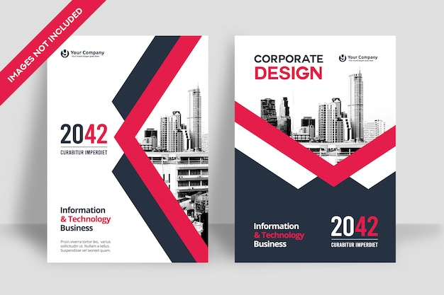 Business book cover design vorlage