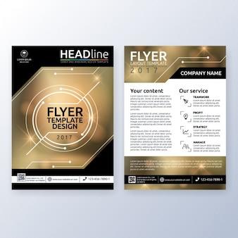 Business-broschüre design