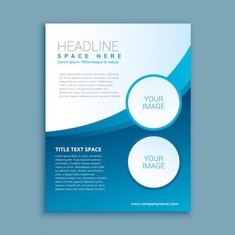 Business-broschüre oder flyer design-vorlage
