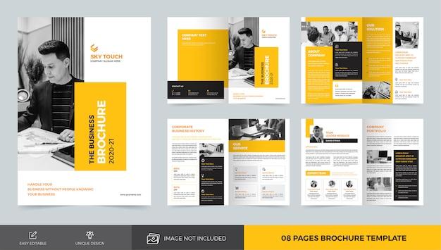 Business-broschürenvorlage