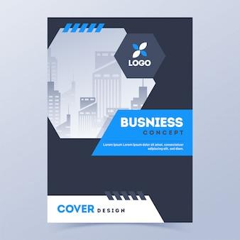 Business-deckblatt
