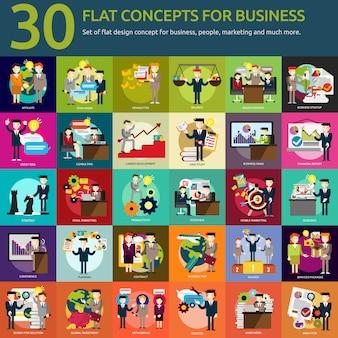 Business-designs kollektion