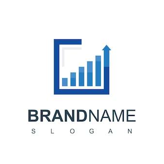 Business-diagramm-logo-design-vorlage