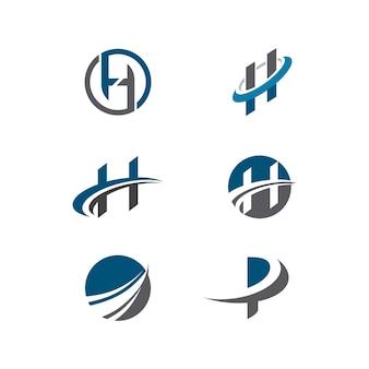 Business finance logo vorlage vektor icon design