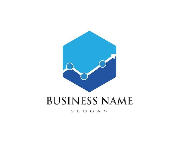 Business finance professionelle logo vorlage