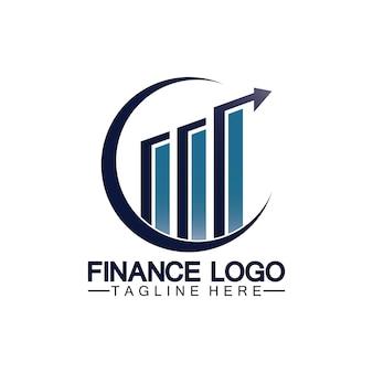 Business finance und marketing logo vector illustration design