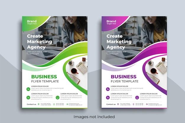 Business flyer vorlage