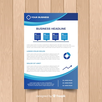Business-flyer-vorlage
