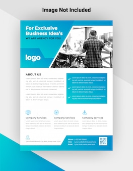 Business flyer vorlage