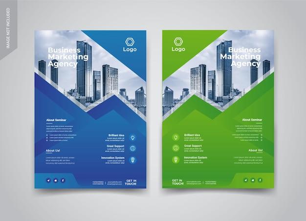 Business-flyer-vorlagen-design
