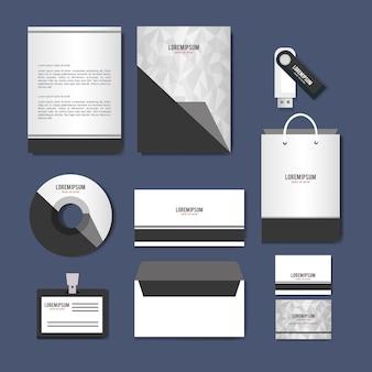 Business gedruckte werbemittel