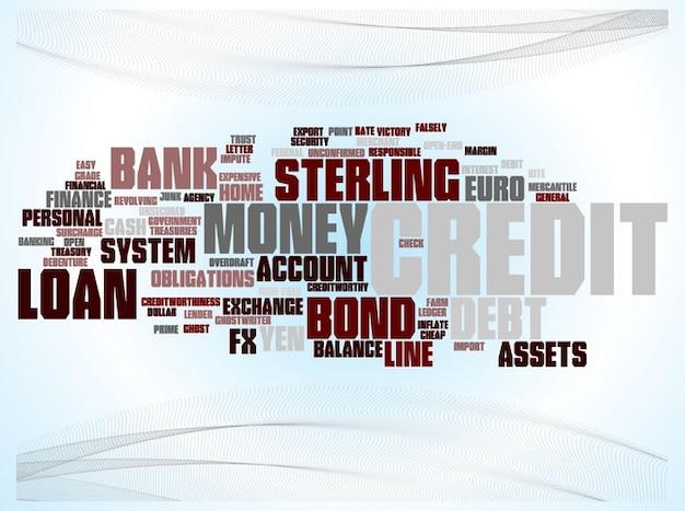 Business-geldangelegenheiten vermögenswerte vektor