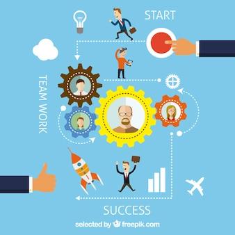 Business-grafik-