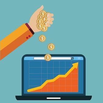 Business-hintergrund-design Kostenlosen Vektoren