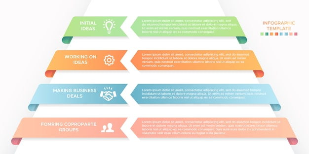 Business-infografik-design-vorlage