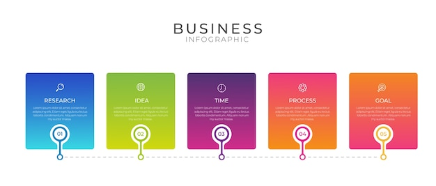 Business infografik design