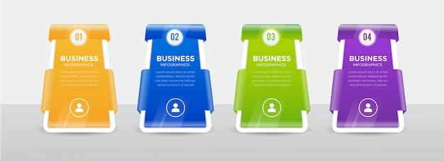 Business infographics banner design
