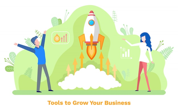 Business innovation, tools zum wachsen, investieren