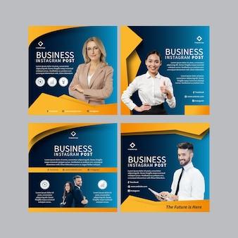 Business instagram beiträge