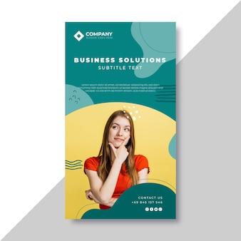 Business instagram story vorlage Kostenlosen Vektoren