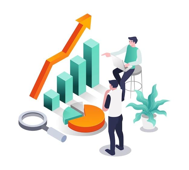 Business-investitions- und handelstraining