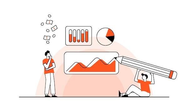 Business-konzept team metapher menschen verbinden puzzle-elemente vektor-illustration flaches design