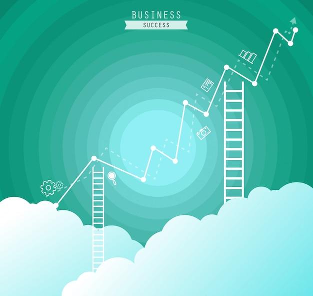 Business konzept vektor-illustration