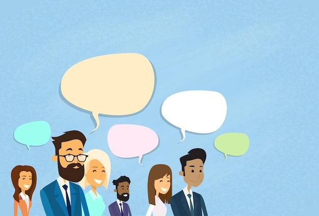 Business-leute-beratungsgruppe
