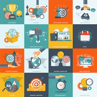 Business-management-icon-set
