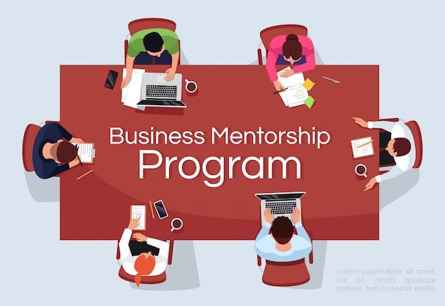 Business mentorship programmvorlage