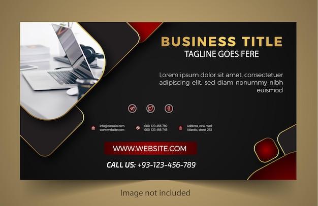 Business neue bannervorlage