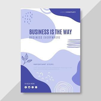 Business poster vorlage Kostenlosen Vektoren