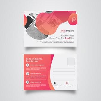 Business-postkarte