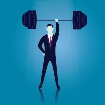 Business power stärke konzept