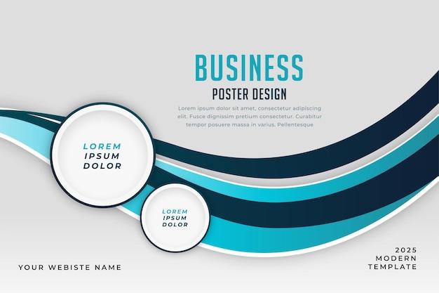 Business-präsentationsvorlage mit textraum