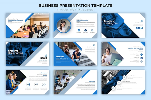 Business-präsentationsvorlage