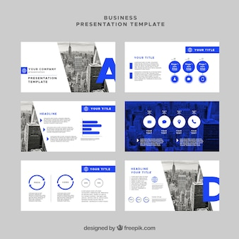 Blue Abstract Präsentationsvorlagen Infografik   Download der ...