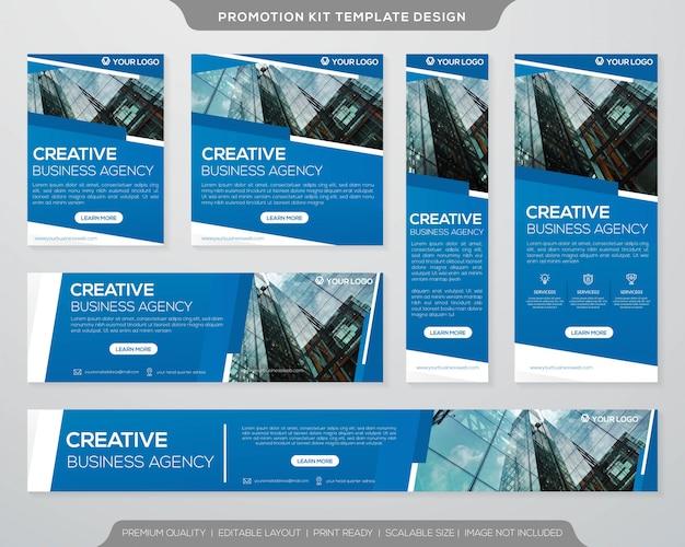 Business promotion kit vorlage