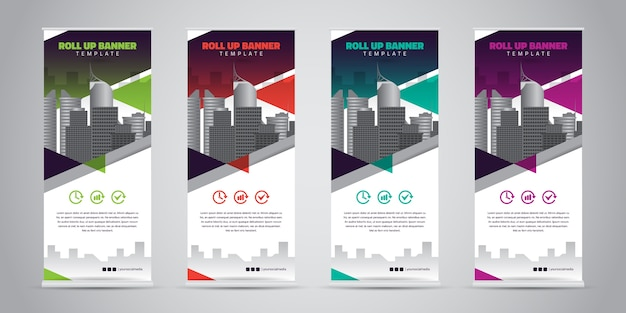 Business roll-up-banner