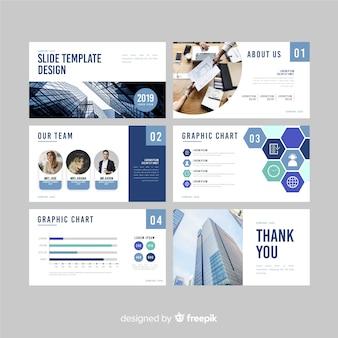 Business slide präsentationsvorlage