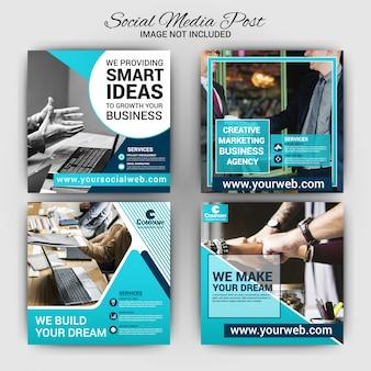 Business social media beitragsvorlage
