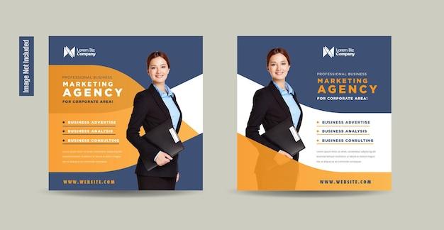 Business social media post-design oder web-banner-design oder werbebanner-design