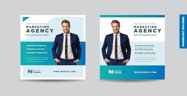 Business social media post design oder website banner design oder web advert design