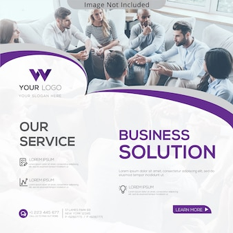 Business solution banner